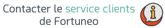 service clients fortuneo