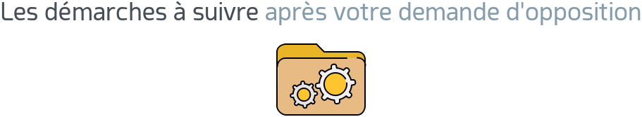 demarches apres opposition carte