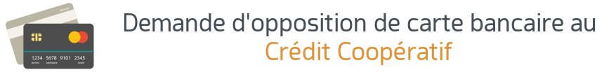 opposition carte credit cooperatif