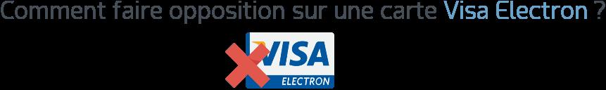 opposition carte visa electron