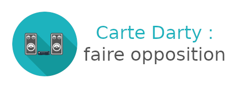 carte darty opposition