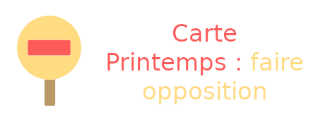 carte printemps opposition