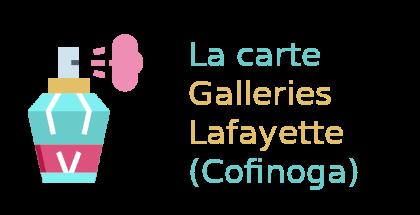 carte galleries lafayette