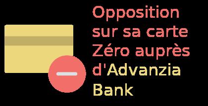 opposition carte zéro