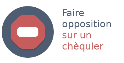 opposition chéquier